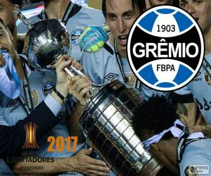 Grêmio, Libertadores 2017 Meister puzzle