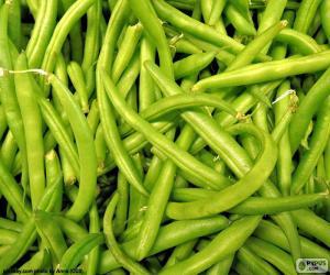 Grüne Bohnen puzzle