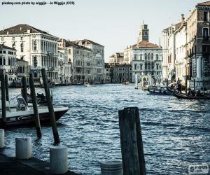 Grand Canal in Venedig, Italien puzzle