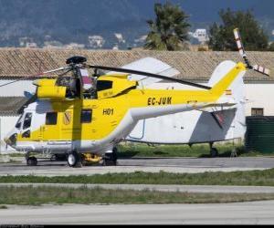 Grand-Hubschrauber puzzle
