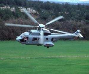 Great Cougar-Hubschrauber EC 725 puzzle