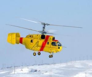Great Hubschrauber Kamov Ka-32A11BC puzzle