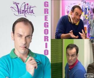 Gregorio ist sehr streng und anspruchsvoll puzzle