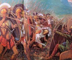 Griechische Soldaten puzzle
