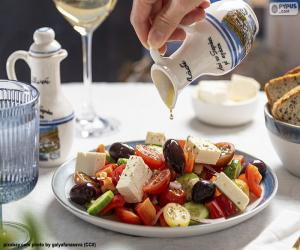 Griechischer Salat puzzle