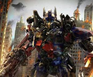 Große Roboter Transformer von Disney puzzle