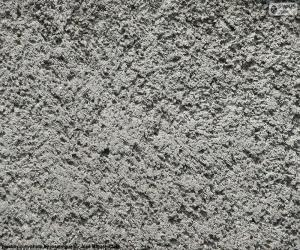 Grobe Betonmauer puzzle