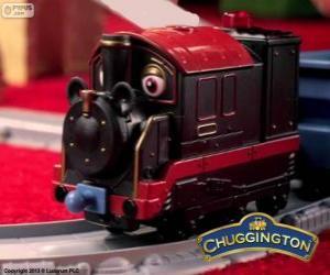 Grossvater Pete, die Dampflokomotive ist die älteste Chugger in Chuggington puzzle