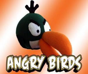 Grün Vogel (Green Bird), Vogel mit Bumerang-Effekt puzzle