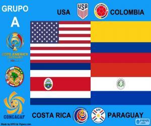 Gruppe A, Copa América Centenario puzzle