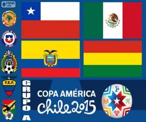 Gruppe A, Copa America 2015 puzzle