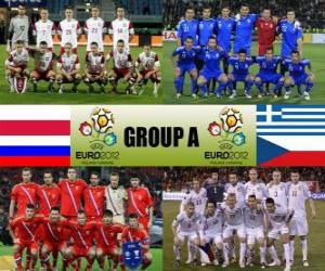 Gruppe A - Euro 2012 - puzzle