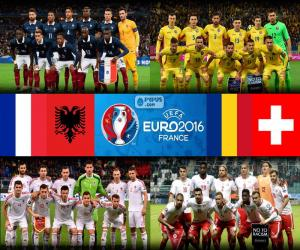 Gruppe A, Euro 2016 puzzle
