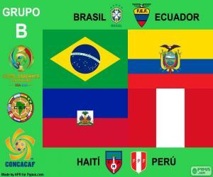 Gruppe B, Copa América Centenario puzzle