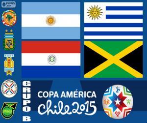 Gruppe B, Copa America 2015 puzzle