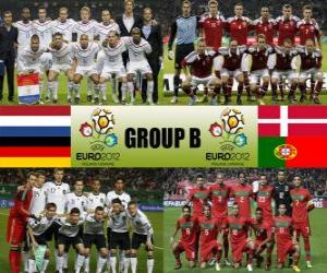 Gruppe B - Euro 2012- puzzle