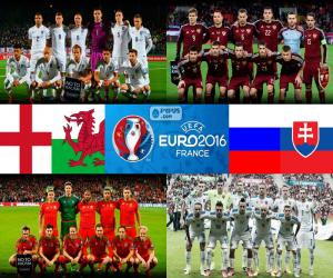 Gruppe B, Euro 2016 puzzle