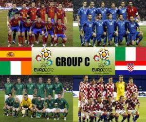 Gruppe C - Euro 2012- puzzle