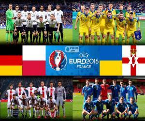 Gruppe C, Euro 2016 puzzle