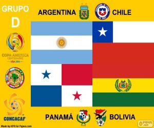 Gruppe D, Copa América Centenario puzzle