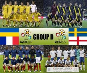 Gruppe D - Euro-2012- puzzle