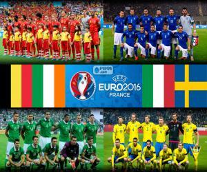 Gruppe E, Euro 2016 puzzle