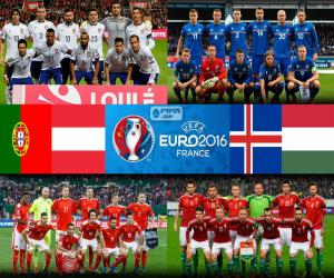 Gruppe F, Euro 2016 puzzle