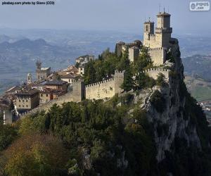 Guaita Tower, San Marino puzzle