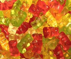 Gummibärchen puzzle