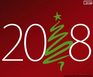 Guten Rutsch ins Jahr 2018 puzzle