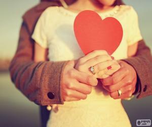 Hände und Herzen puzzle