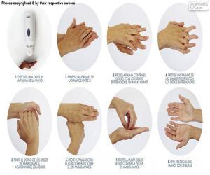 Händewaschen puzzle