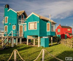 Häuser, Santa Clara del Mar, ARG puzzle