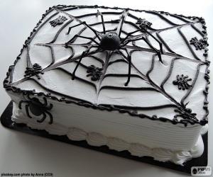 Halloween-Kuchen puzzle