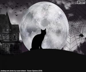Halloween-Nacht puzzle