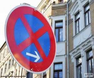 Halten und parken verboten puzzle