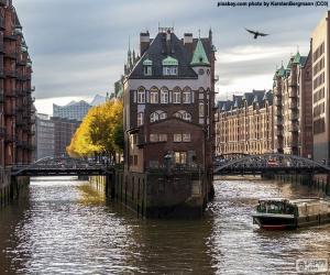 Hamburg, Deutschland puzzle
