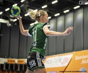 Handballspieler puzzle