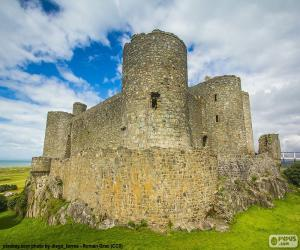 Harlech Castle, Wales puzzle