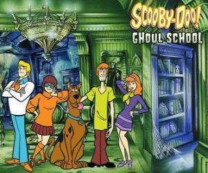 Hauptfiguren von Scooby-Doo puzzle
