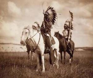 Häuptling der Sioux puzzle