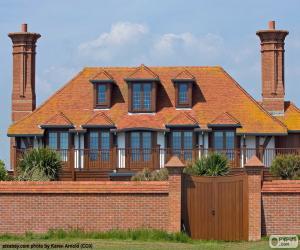 Haus mit Dachgeschoss puzzle