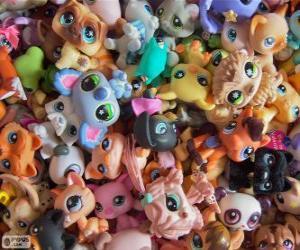 Haustiere von Littlest PetShop puzzle