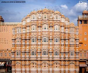 Hawa Mahal, Indien puzzle