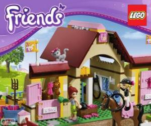 Heartlake Stallungen, Lego Friends puzzle