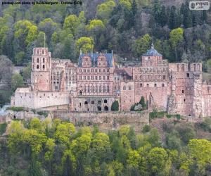 Heidelberger Schloss, Deutschland puzzle