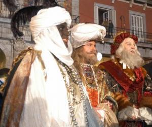 Heilige Drei Könige, Caspar, Melchior und Balthasar puzzle