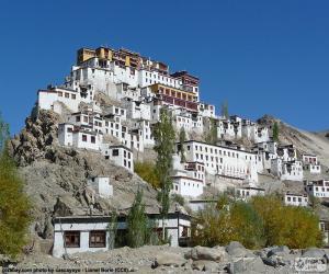 Hemis Kloster, Indien puzzle