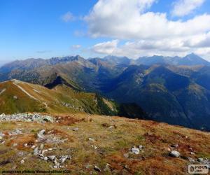 Herbst im Hochgebirge puzzle