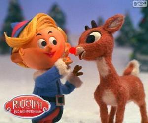 Hermey und Rudolph puzzle